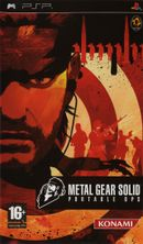 Jaquette Metal Gear Solid : Portable Ops