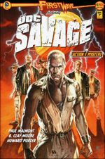Couverture First Wave - Doc Savage, tome 1