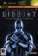 Jaquette The Chronicles of Riddick : Escape from Butcher Bay