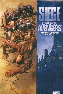 Couverture Siege: Dark Avengers