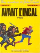 Couverture Avant l'Incal, tome 1