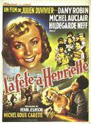 Affiche La Fête à Henriette