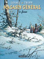 Couverture Les Femmes - Magasin général, tome 8