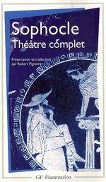 Couverture Théâtre complet