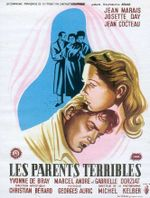 Affiche Les parents terribles