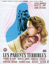 Affiche Les Parents terribles