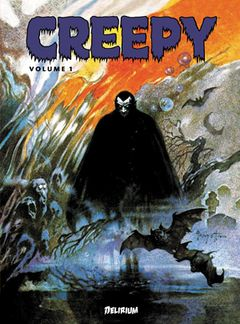 Couverture Anthologie Creepy, tome 1