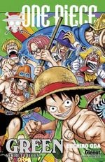 Couverture One Piece Green