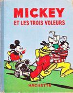 Couverture Mickey et les 3 voleurs
