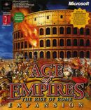 Jaquette Age of Empires : The Rise of Rome