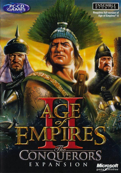 Jaquette Age of Empires II : The Conquerors