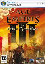 Jaquette Age of Empires III : The Asian Dynasties