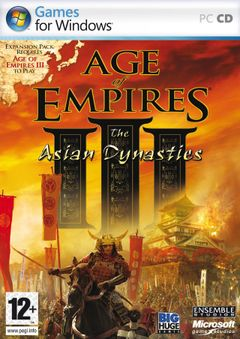 Jaquette Age of Empires III: The Asian Dynasties