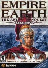 Jaquette Empire Earth : The Art of Conquest