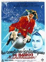 Affiche Les Aventures fantastiques du baron Münchhausen