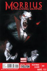 Couverture Morbius: The Living Vampire (2013)