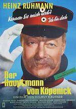 Affiche Le Capitaine de Köpenick