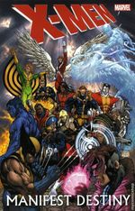 Couverture X-Men: Manifest Destiny