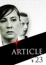 Affiche Article 23