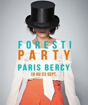 Affiche Foresti Party Bercy
