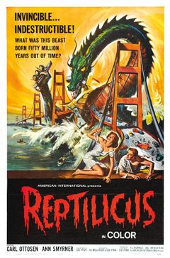 Affiche Reptilicus, le monstre des mers