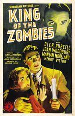 Affiche Le Roi des zombies