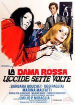 Affiche La Dame Rouge tua sept fois