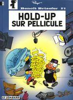 Couverture Hold-up sur pellicule - Benoît Brisefer, tome 8