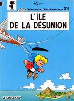 Couverture L'ïle de la désunion - Benoît Brisefer, tome 9