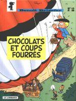 Couverture Chocolats et coup fourrés - Benoît Brisefer, tome 12