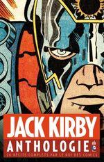 Couverture Jack Kirby Anthologie