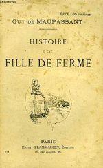 Couverture Histoire d'une fille de ferme