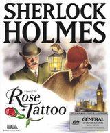 Jaquette Les Dossiers secrets de Sherlock Holmes : L'Affaire de la rose tatouée