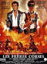 Affiche Les Frères corses