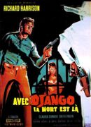 Affiche Avec Django, la mort est là