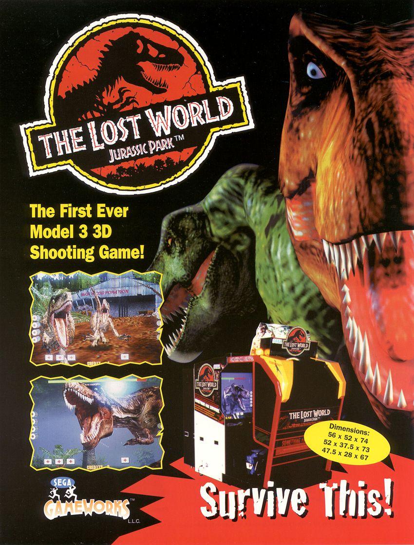 Jurassic park le monde perdu 1997 jeu vid o - Jeux de jurassic park 3 ...