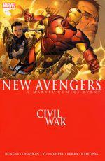 Couverture New Avengers: Civil War