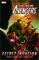Couverture New Avengers: Secret Invasion, Book One