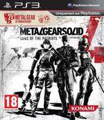 Jaquette Metal Gear Solid 4 : Guns of the Patriots - Édition 25ème anniversaire
