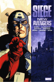 Couverture New Avengers: Siege