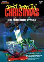 Affiche Don't Open Till Christmas