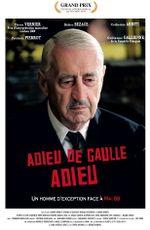 Affiche Adieu de Gaulle, adieu