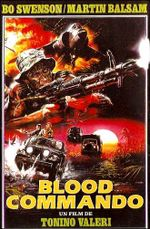 Affiche Blood Commando