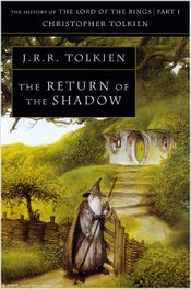 Couverture The Return of the Shadow - The History of Middle-earth, volume 6