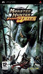 Jaquette Monster Hunter Freedom Unite