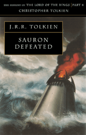 Couverture Sauron Defeated - The History of Middle-earth, volume 9