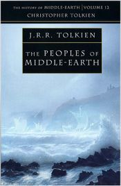 Couverture The Peoples of Middle-earth - The History of Middle-earth, volume 12