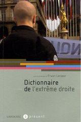 Couverture Dictionnaire de l'extrême droite
