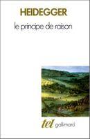 Couverture Le Principe de raison
