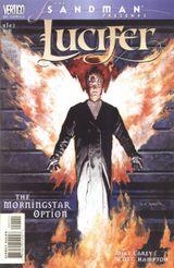 Couverture Sandman Presents: Lucifer - The Morningstar Option